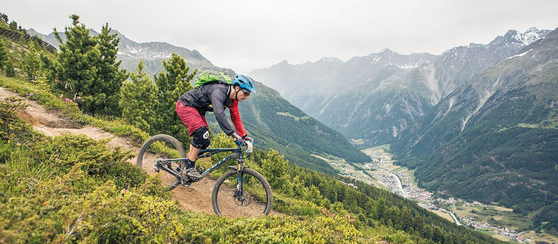Mountainbiken in Sölden